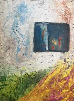 """""""Hydrea"""" oil on canvas 2016  Tamsin Smith"""